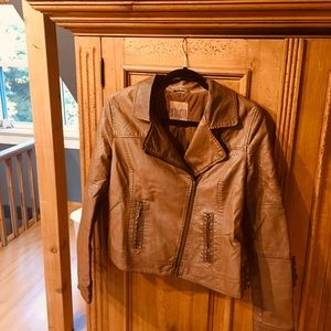 BB Dakota Leather Jacket L